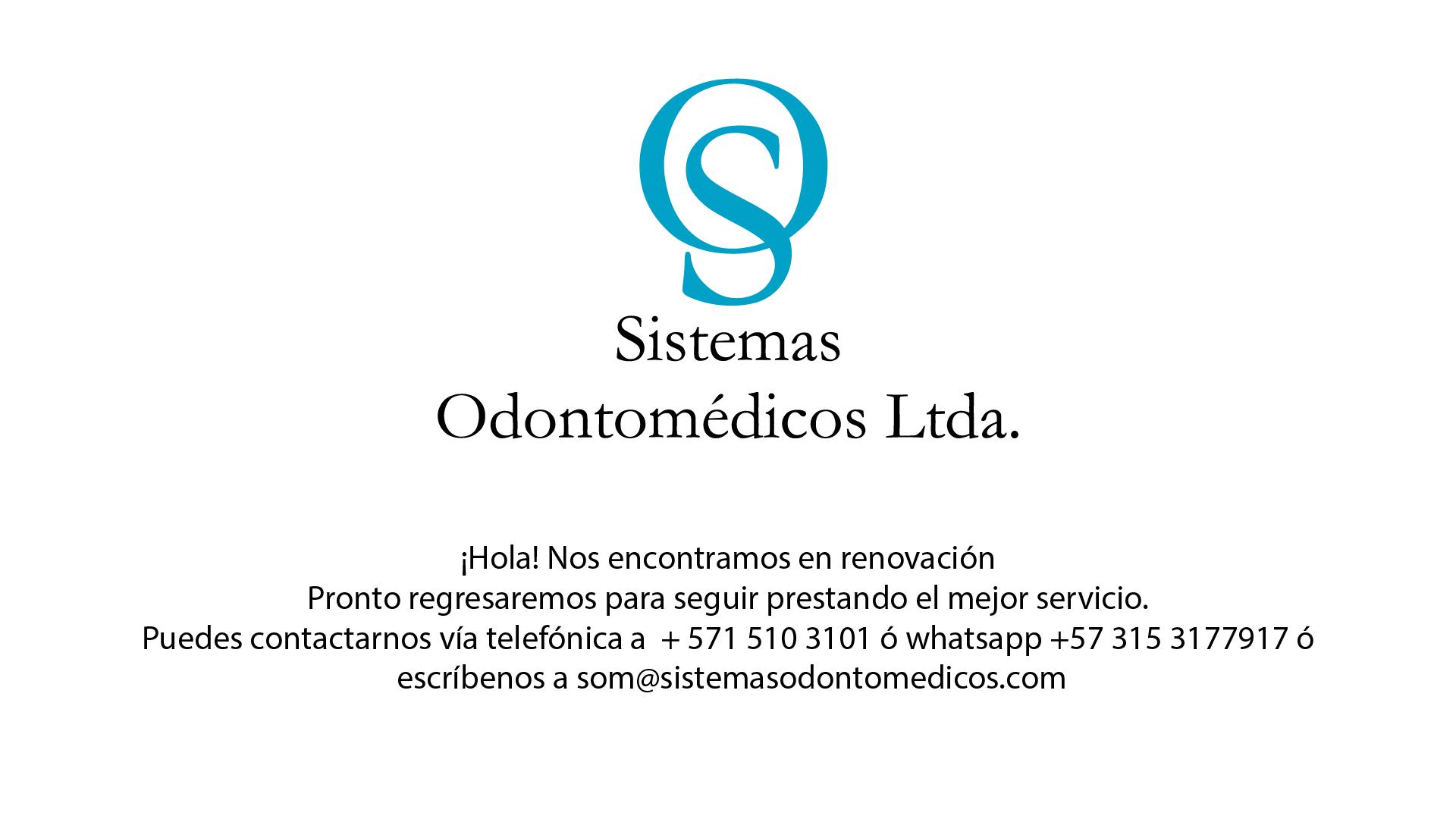Sistemas Odontomedicos